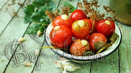 Соленые помидоры(быстрый метод, за 4 дня!) - Видео Рецепт