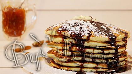 Американские Панкейки или Buttermilk Pancakes - Видеорецепт