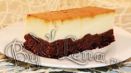 Шоколадное пирожное Крем-Карамель или Шокофлан