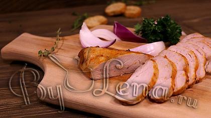 Пастрома из курицы в духовке - Видео Рецепт