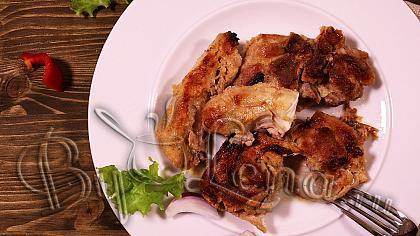 Курица в духовке, по турецки - Видео Рецепт