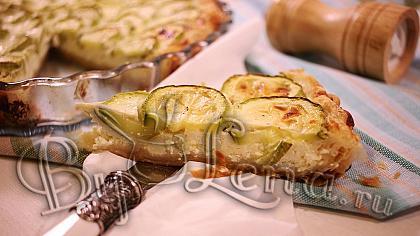 Пирог с кабачками и брынзой - Видео Рецепт