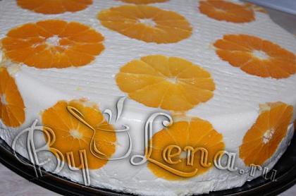 Торт Дипломат с апельсинами