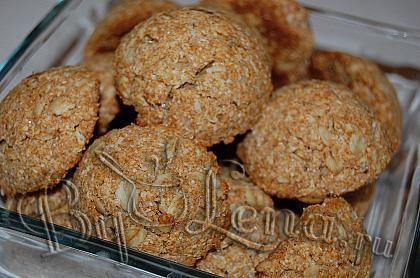 Кокосовое овсяное печенье