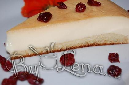 Kaрамельный торт-суфле