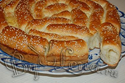 Хлеб с итальянскими травами и сыром