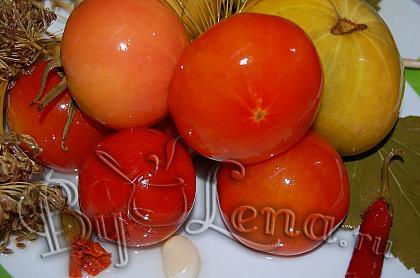 Квашеные(моченые) помидоры