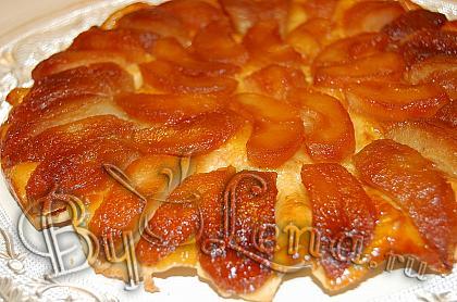 Перевернутый пирог с яблоками (Тарт Татэн)