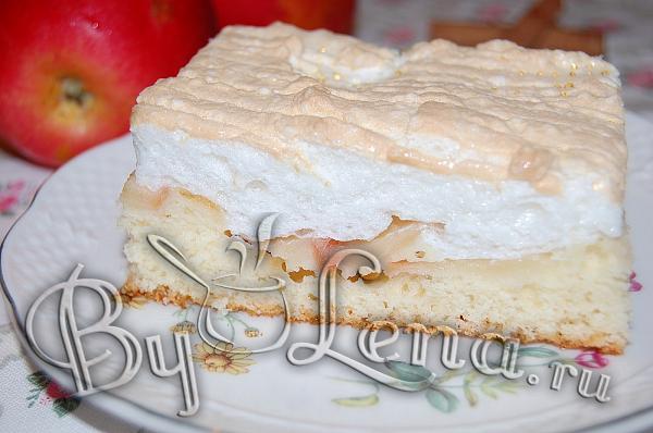 """""""Простой яблочный пирог с безе"""" - шаг 14"""