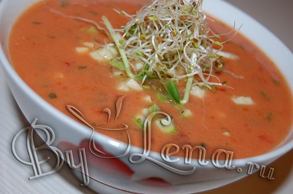 Классический томатный суп рецепты